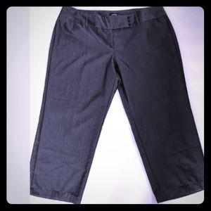 5/$20 Avenue 24 Gray Pants Office Career Wear